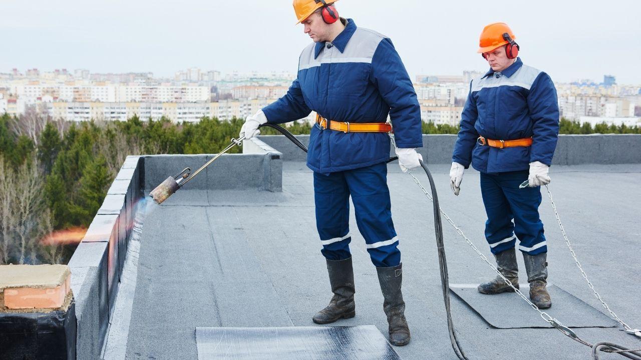 Fibreglass Flat Roof construction